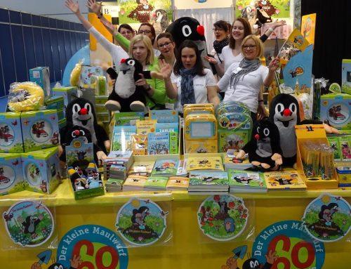 Unser Maulwurf-Jubiläumsstand auf der Leipziger Buchmesse