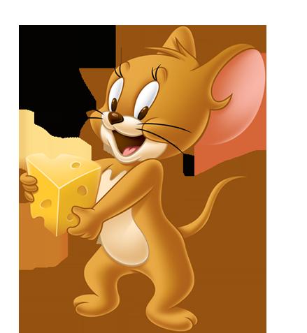 Tom und Jerry Maus isst Käse