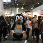 Maulwurf-Jubiläumsstand auf der Leipziger Buchmesse 2017