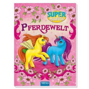 Pferdewelt Super-Malbuch