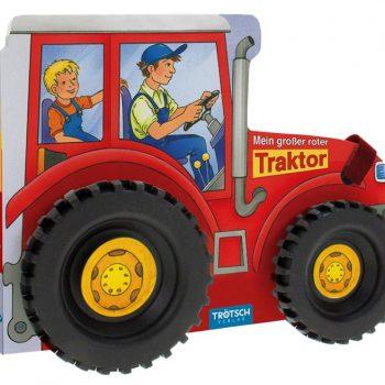 """Pappenbuch """"Mein großer roter Traktor"""""""