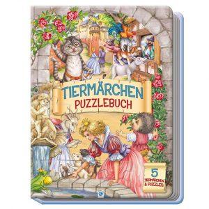 Tiermärchen-Puzzlebuch